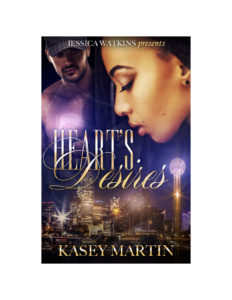 Cover Art for Heart's Desires by Kasey Martin