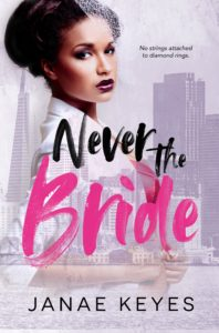 Cover Art for Never The Bride by Janae Keyes
