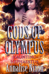 Cover Art for Haunting Hephaestus by Annalise Nixon