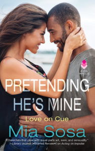 Cover Art for Pretending He's Mine by Mia Sosa