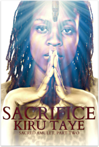 Cover Art for Sacrifice by Kiru Taye