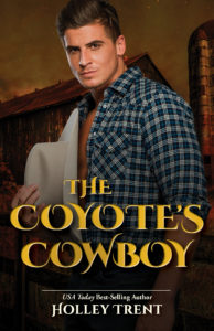 Cover Art for The Coyote's Cowboy by Holley Trent