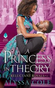 Cover Art for A Princess in Theory by Alyssa Cole