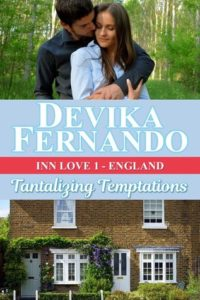 Cover Art for Tantalizing Temptations by Devika Fernando
