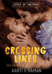Cover Art for Crossing Lines by Aarti V Raman