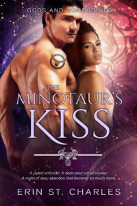 Cover Art for The Minotaur's Kiss by Erin St. Charles