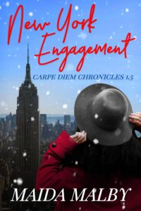 Cover Art for New York Engagement by Maida Malby