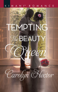 Cover Art for Tempting the Beauty Queen by Carolyn Hector