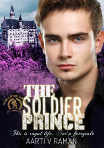 Cover Art for The Soldier Prince by Aarti V Raman