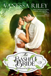 Cover Art for The Bashful Bride by Vanessa Riley