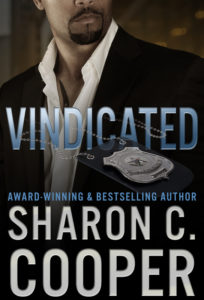 Cover Art for Vindicated by Sharon C. Cooper