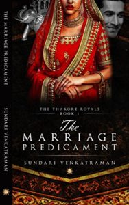Cover Art for THE MARRIAGE PREDICAMENT by Sundari Venkatraman