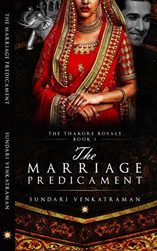 Cover Art for THE MARRIAGE PREDICAMENT by Sundari Venkatraman