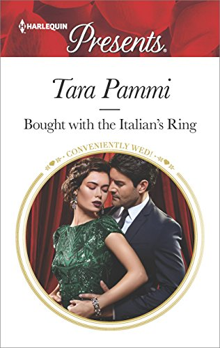 Cover Art for BOUGHT WITH THE ITALIAN'S RING by Tara Pammi