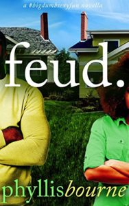Cover Art for FEUD. by Phyllis Bourne