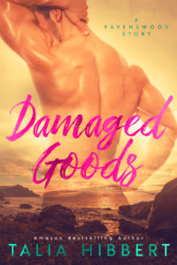 Cover Art for Damaged Goods by Talia Hibbert