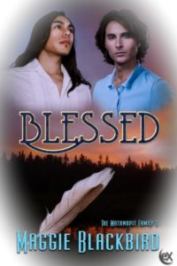 Cover Art for Blessed by Maggie Blackbird