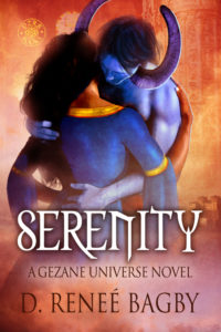 Cover Art for Serenity by D. Renee Bagby