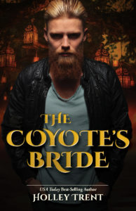 Cover Art for The Coyote's Bride by Holley Trent