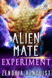 Cover Art for Alien Mate Experiment by Zenobia Renquist