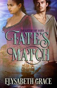 Cover Art for Fate's Match by Elysabeth Grace