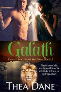 Cover Art for Galath  (Knight Shifters of the Grail Book2) by Thea Dane