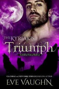 Cover Art for The Kyriakis Triumph by Eve Vaughn
