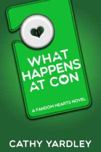 Cover Art for What Happens At Con by Cathy Yardley