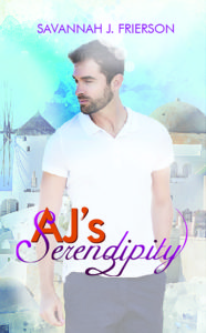 Cover Art for AJ's Serendipity by Savannah J. Frierson