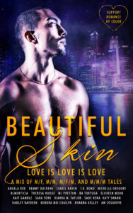 Cover Art for Beautiful Skin: A People of Color Anthology by Multiple Authors & Kharma Kelley