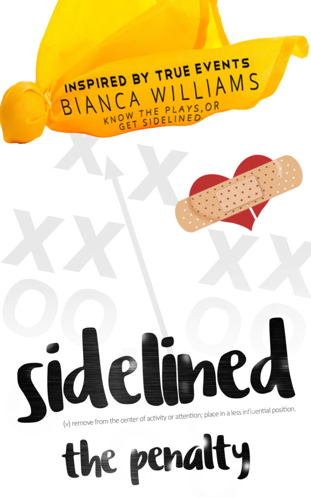 Cover Art for Sidelined: The Penalty by Bianca Williams