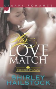 Cover Art for His Love Match (Weddings by Diana) by Shirley Hailstock