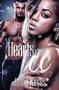 Cover Art for Hearts On Ice by Janae Keyes