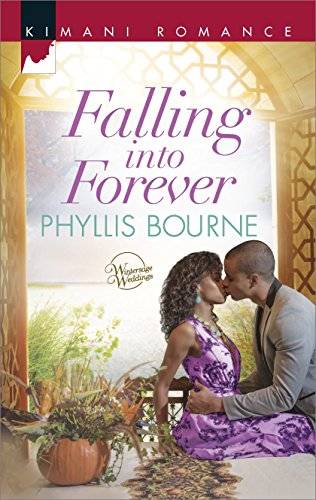 Cover Art for Falling into Forever (Wintersage Weddings Book 1) by Phyllis Bourne
