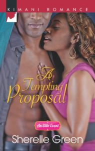 Cover Art for A Tempting Proposal (An Elite Event Book 1) by Sherelle Green