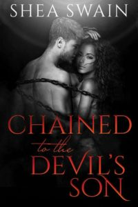 Cover Art for Chained to the Devil's Son by Shea Swain