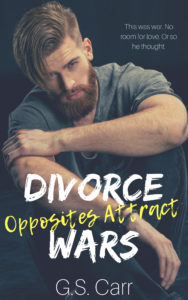 Cover Art for Divorce Wars: Opposites Attract by G.S. Carr
