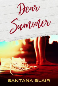 Cover Art for Dear Summer by Santana Blair