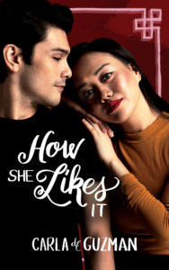 Cover Art for How She Likes It by Carla de Guzman