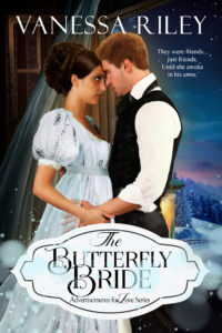 Cover Art for The Butterfly Bride by Vanessa Riley