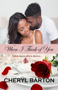 Cover Art for When I Think of You by Cheryl Barton