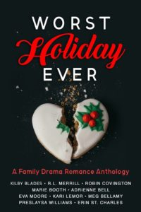 Cover Art for Worst Holiday Ever: A Family Drama Romance Anthology by Preslaysa Williams