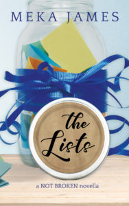 Cover Art for The Lists by Meka James
