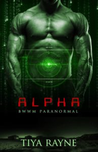 Cover Art for Alpha by Tiya Rayne