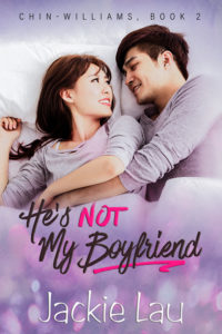 Cover Art for He's Not My Boyfriend by Jackie Lau