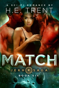 Cover Art for Match by H.E. Trent