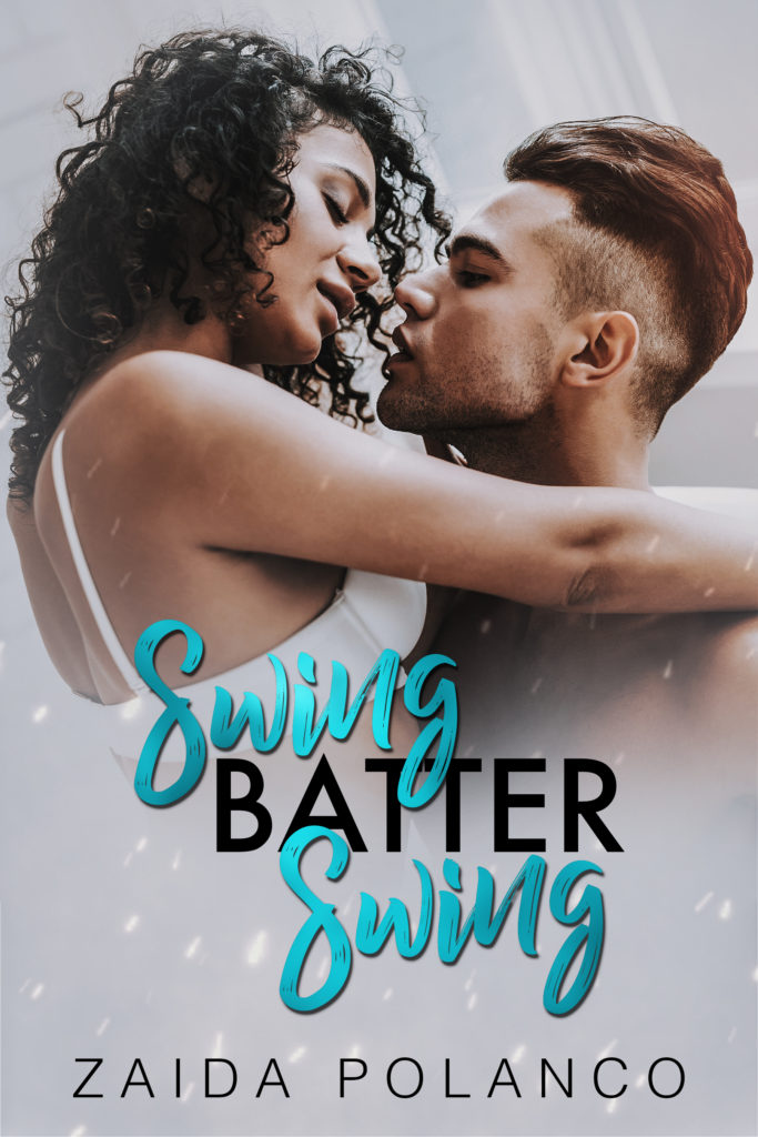 Cover Art for Swing Batter Swing by Zaida Polanco
