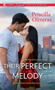 Cover Art for Their Perfect Melody by Priscilla Oliveras
