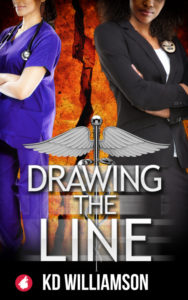 Cover Art for Drawing the Line by KD Williamson