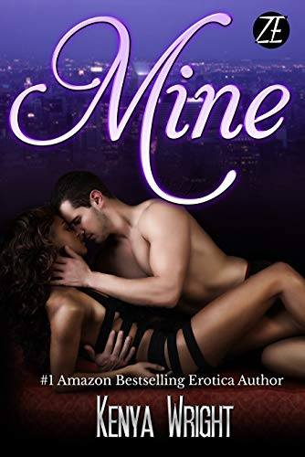 Cover Art for Mine by Kenya Wright